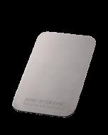 Flat metal palette