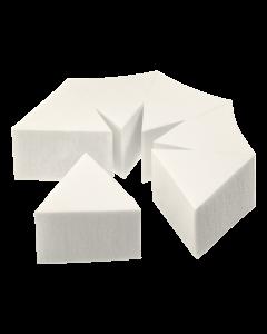 blok 6 spužvica za nanošenje pudera