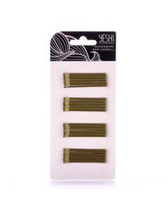 Špange za kosu |  zlatne ravne 5,5 cm