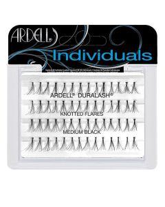 Trepavice Ardell® | Individual | Model-knotted flares medium black