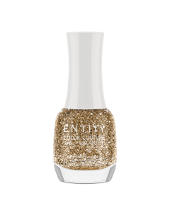 Gel lak za nokte Drops of Gold 15ml | ENTITY