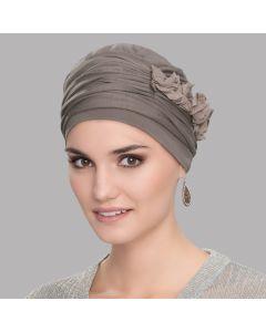 Ellen's Headwear-Lulu taupe beige
