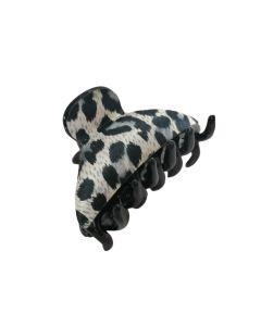 Kopča za kosu tigrasti uzorak 6 cm