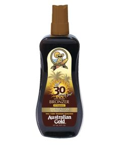 SPREJ ZA ZAŠTITU OD SUNCA S BRONZEROM AUSTRALIAN GOLD | 237 ML