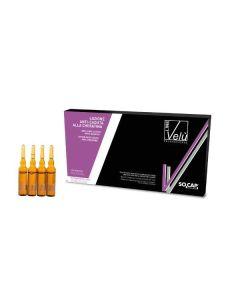 Velu | Ampule s keratinom za rast kose; 12x8 ml